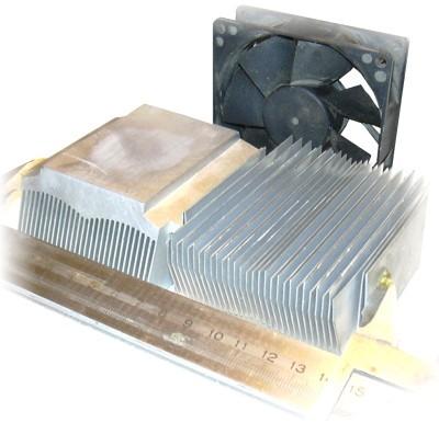 Внешний вид радиаторов для данного моноблока