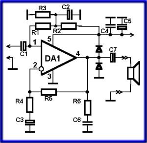 Усилитель мощности на микросхеме tda2030