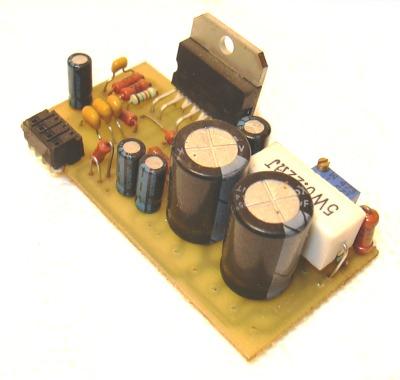 Внешний вид набора усилителя мощности на базе TDA7293 TDA7294