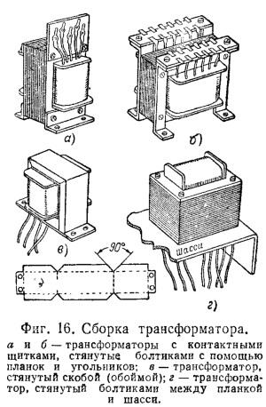 крепления трансформатора и