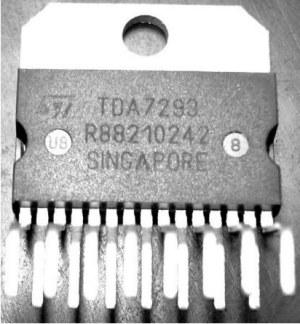 Правильная маркировка TDA7293