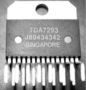 Совсем не правильная маркировка TDA7293
