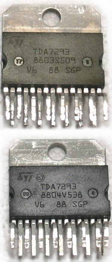 Новые TDA7293