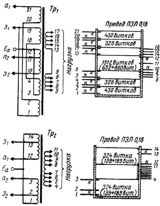 Выходной трансформатор для лампового усилителя своими руками