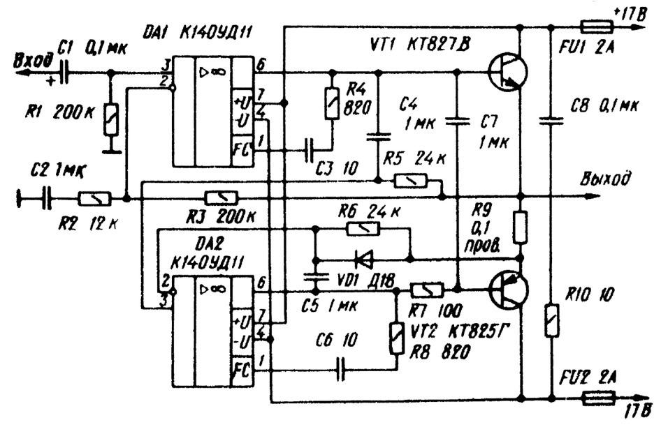 электрическая схема умножителей напряжения