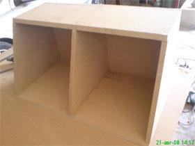 16 - Интерлавка, Как самому сделать короб для сабвуфера
