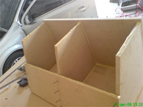 21 - Интерлавка, Как самому сделать короб для сабвуфера